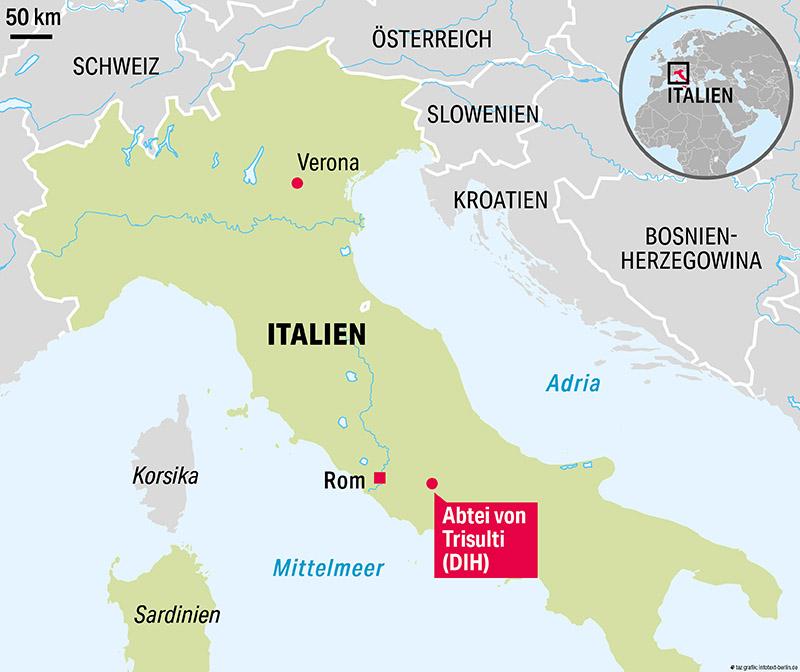 Verona Italien Karte.Die Unheilige Allianz