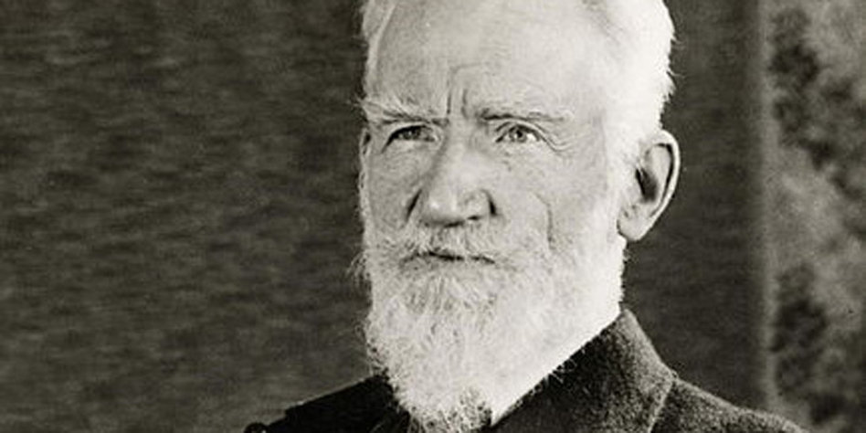 Kino-Fan <b>George Bernard Shaw</b>. Bild: unbekannt, gemeinfrei - aera_434px-George_Bernard_Shaw_1936_01