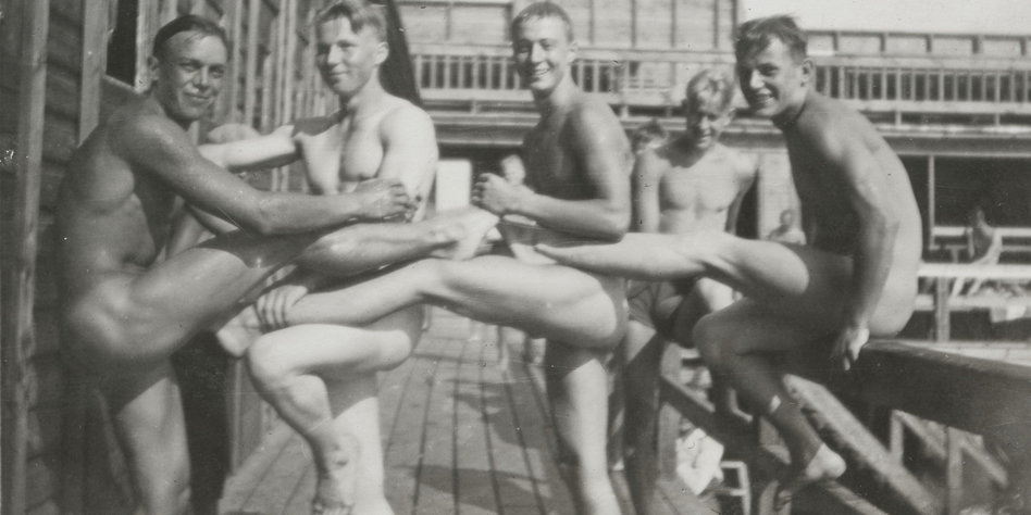 Schambereich - Geschichte: Sie werden fast immer nackt sein