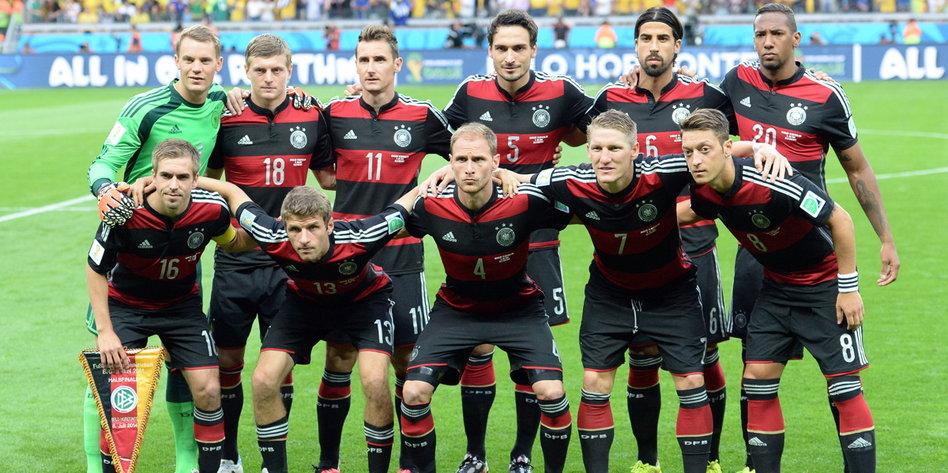 wie hat die deutsche nationalmannschaft gespielt