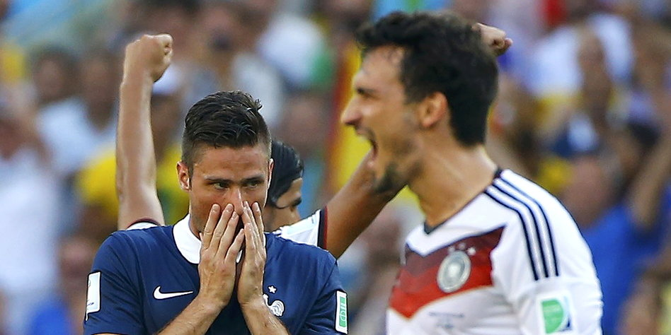 Deutschland Halbfinale Gegner