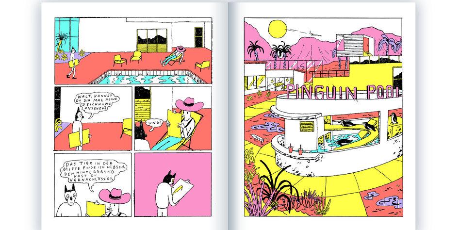 neuer tiercomic erschienen berbordende zeichenfreude. Black Bedroom Furniture Sets. Home Design Ideas