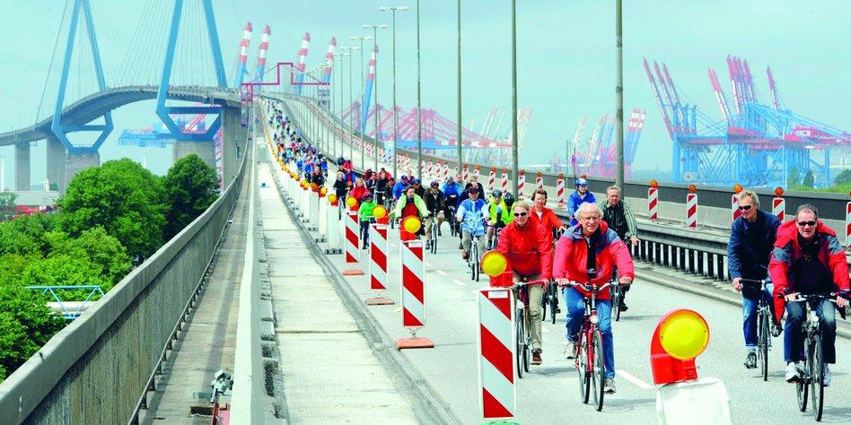 Demo Köhlbrandbrücke