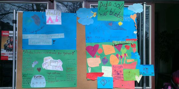 Bild Kinder-Demo in Neukölln für Ayle