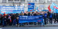 AfD-Demo in Hamburg