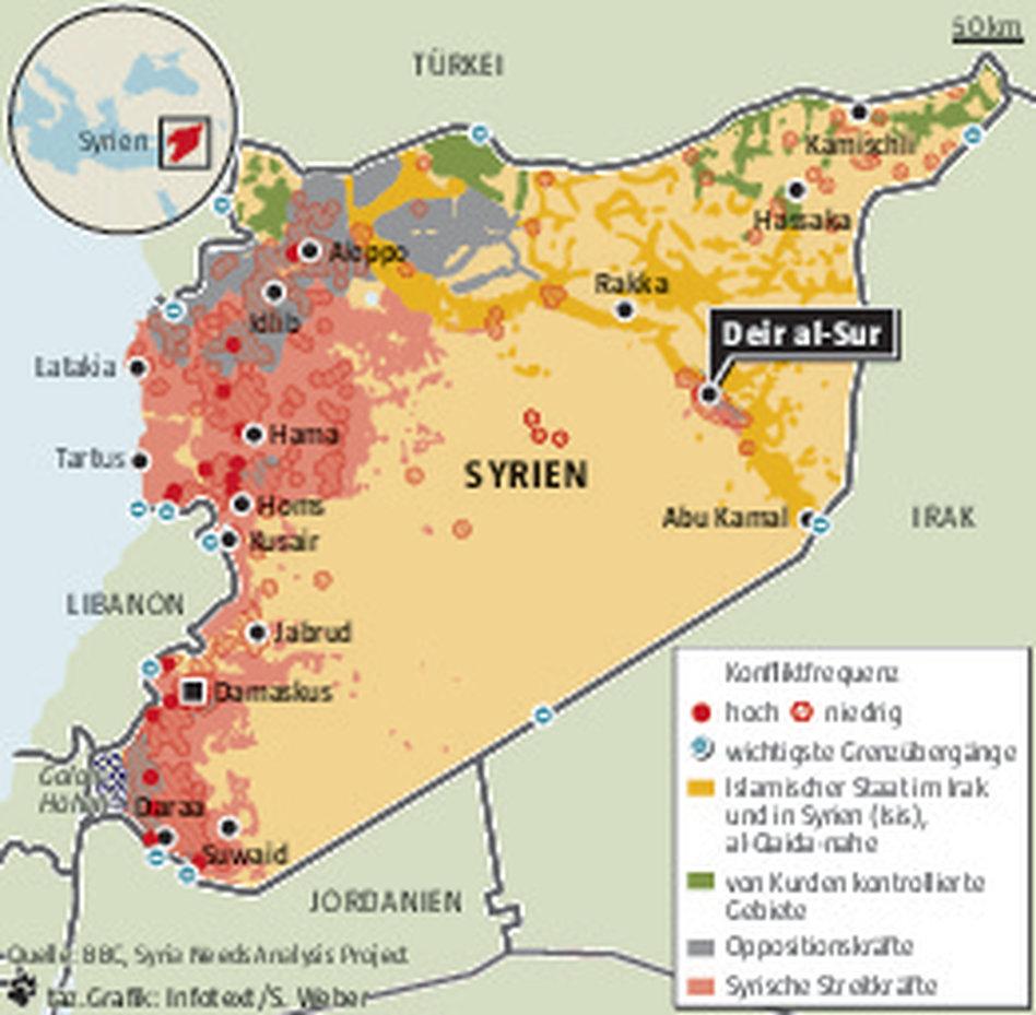 Syrien Städte