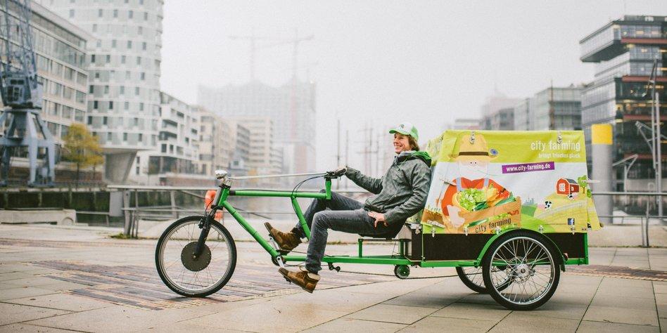 logistik in der stadt per fahrrad die lastenr der. Black Bedroom Furniture Sets. Home Design Ideas