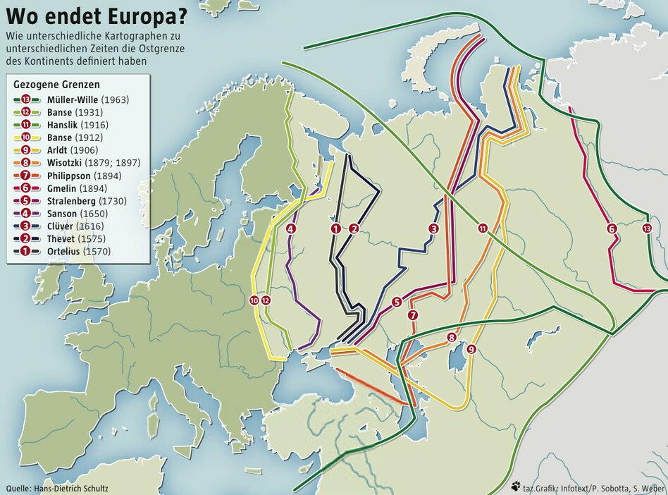 Asien grenze landkarte europa Weltkarte Grenze