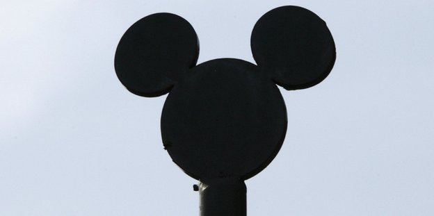 Mickey Mouse im Himmel