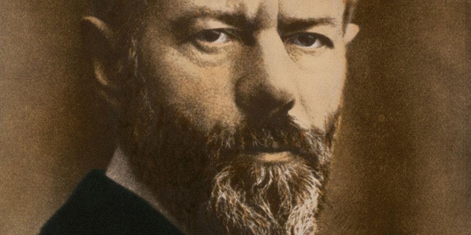 150 Geburtstag Von Max Weber Ikone Der Bürgerlichkeit Tazde