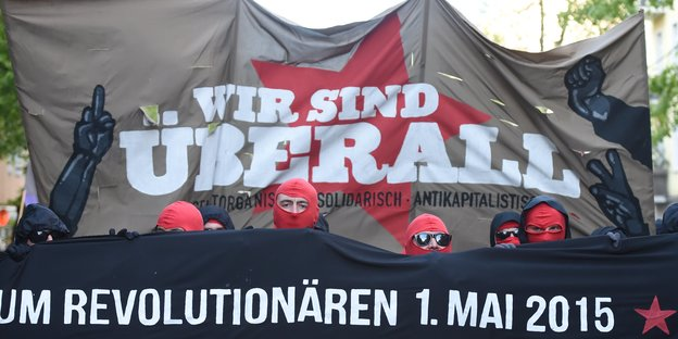 1. Mai-Demo 2015 in Berlin