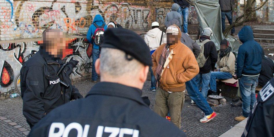 Drogenhandel im Görlitzer Park in Berlin: Blau ist die
