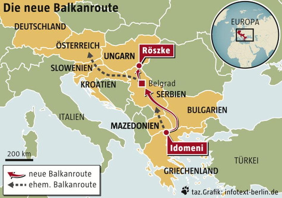 grenze griechenland mazedonien