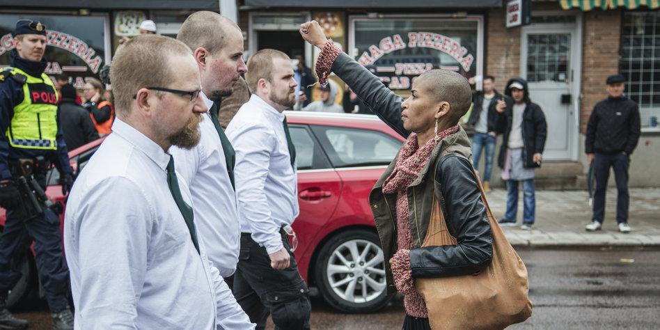 Schwarze Frauen in Schweden