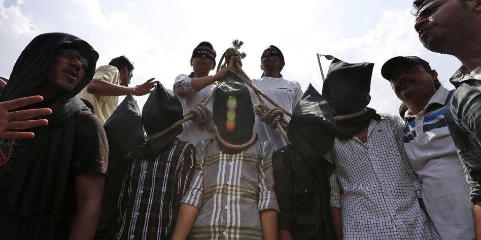 Hinrichtungen Indien