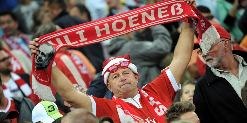 Image result for Uli Hoeness and fans