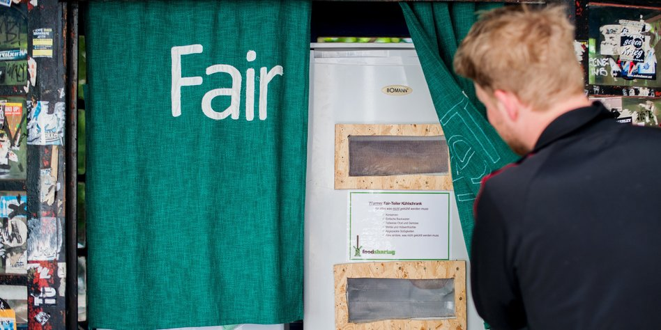 Lebensmittel-Initiative vor dem Aus: Kühlschränke für alle - taz.de