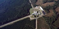 Der Ligo-Detektor in Livingston; Louisiana