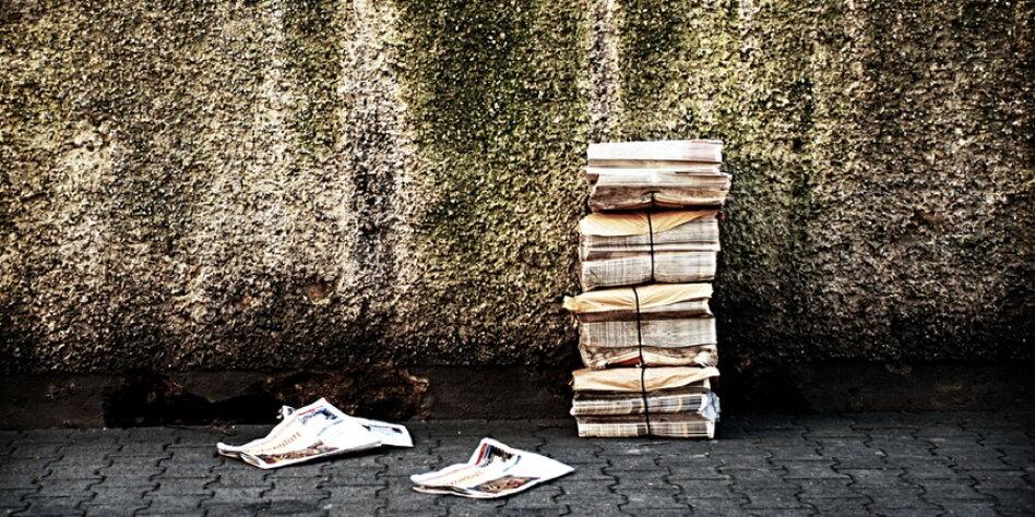 Zeitungsausträger Lohn