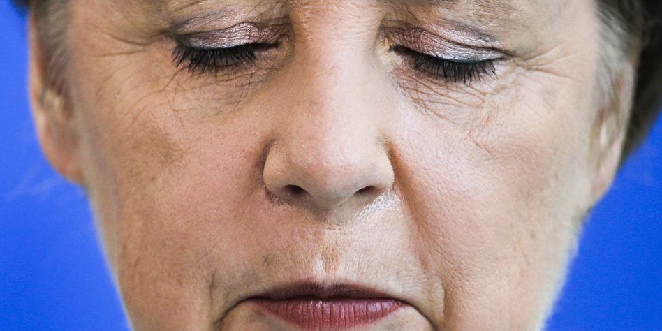 Merkel Erschießen