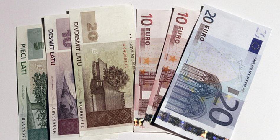 Währung Lettland 2021