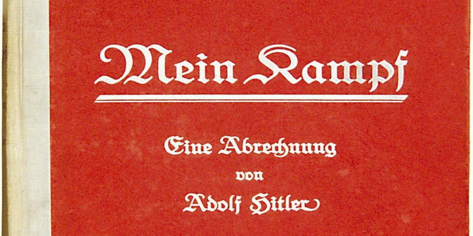 """Streit um Hitlers """"Mein Kampf"""""""
