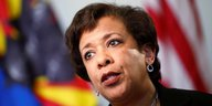 Portrait Loretta Lynch