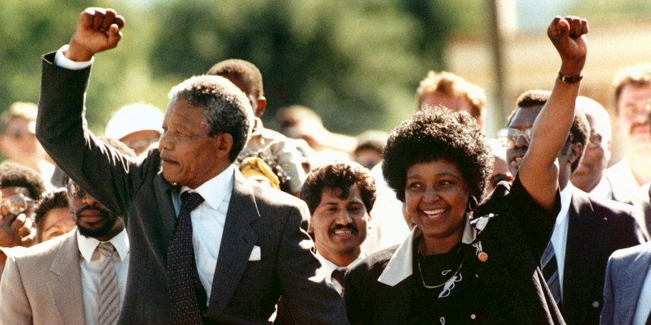 Anti Apartheidspolitik Der Ddr Postkarten Für Mandela Tazde