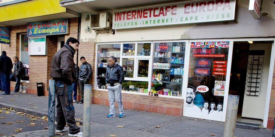 Zuwanderung der Roma: Stehcafé Europa