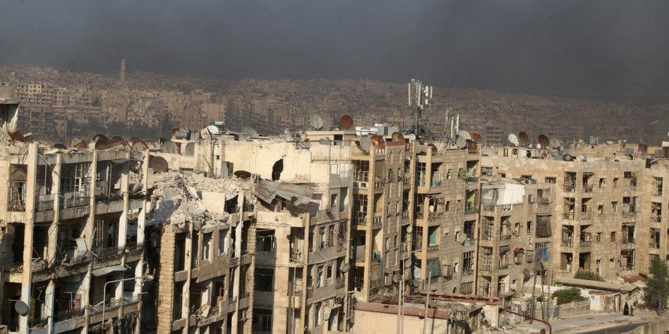 Kampf um syrische Stad...