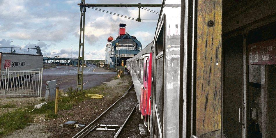 Ruckelndes Eisenbahnabenteuer
