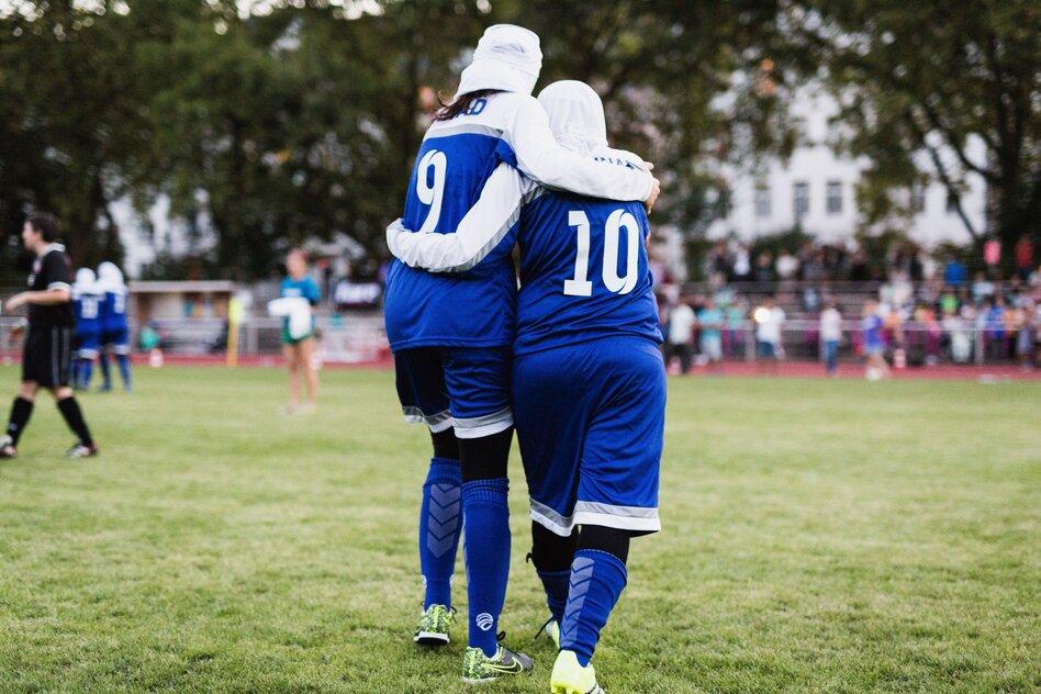 Deutsch Iranischer Frauenfussball Uberall Dieselben Macho