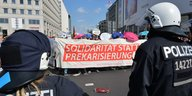 Blockupy-Protest in Berlin