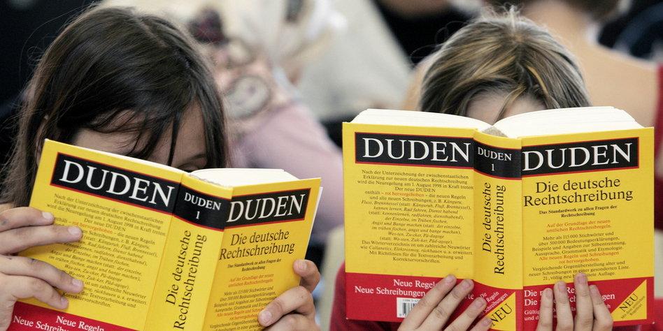 Sprachpanscher 2013 Gekürt Wortschützer Flamen Duden Tazde