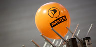 Luftballon der Piratenpartei