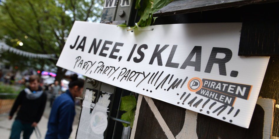 Wahlparty piraten