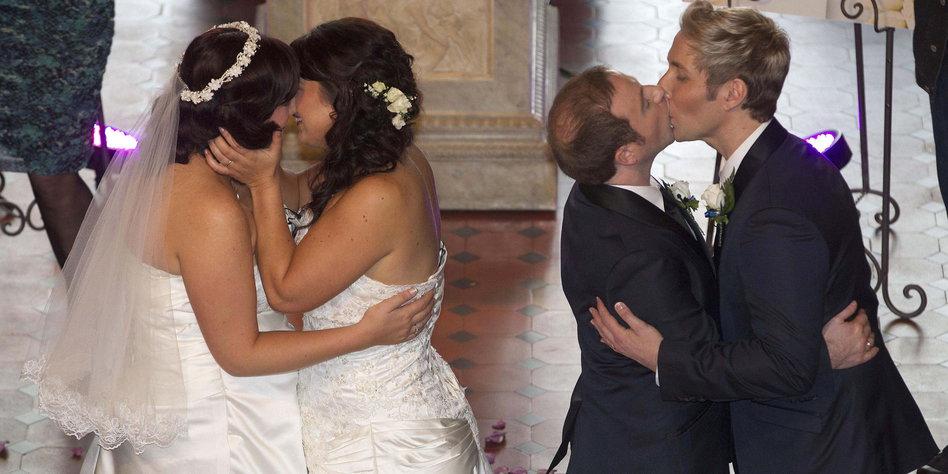 Diskussion zu Homo-Ehe-Gesetz 2016 in Deutschland