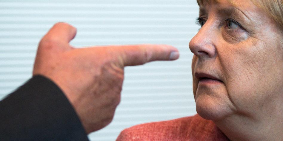 Angela Merkels Flüchtlingspolitik Rechter Gehts Nicht Tazde