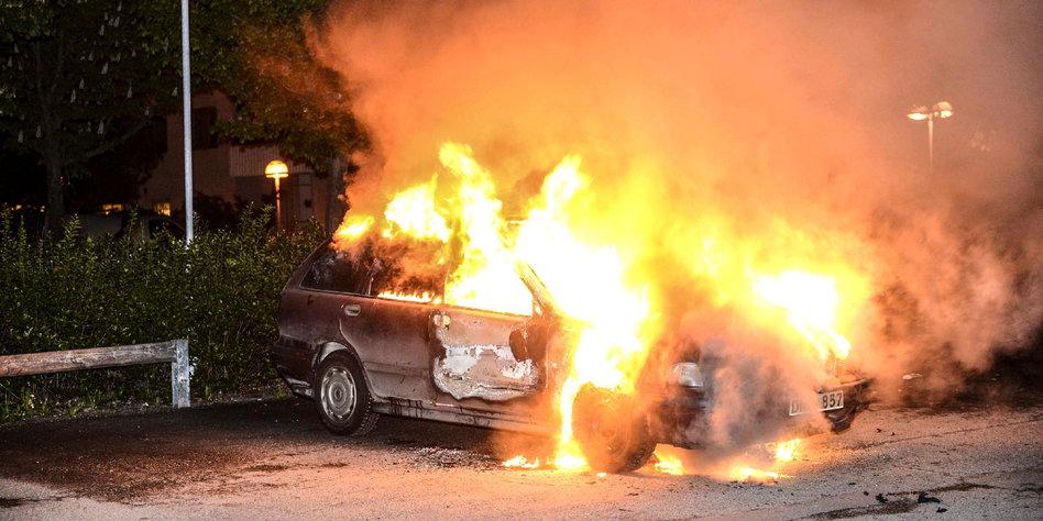 Schweden Unruhen