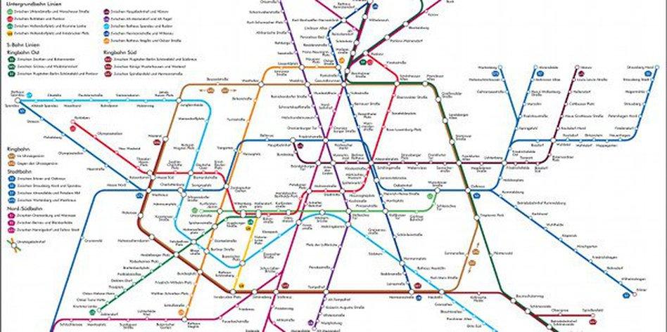 Wissenschaft Und Kunst Der Optimale U Bahn Plan Tazde