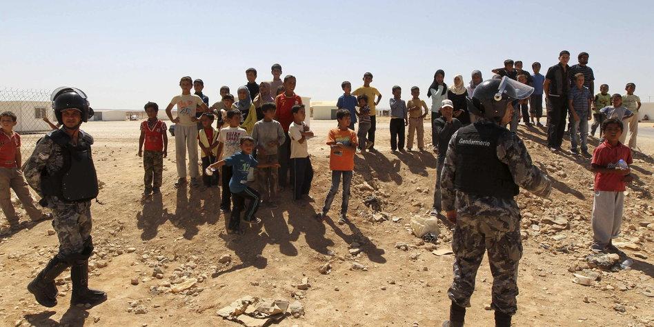 einladung syrische flüchtlinge