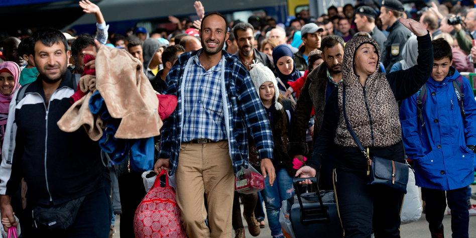 Hbf München Flüchtlinge