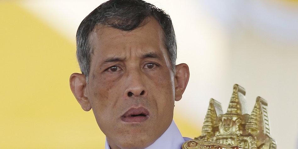 könig in thailand