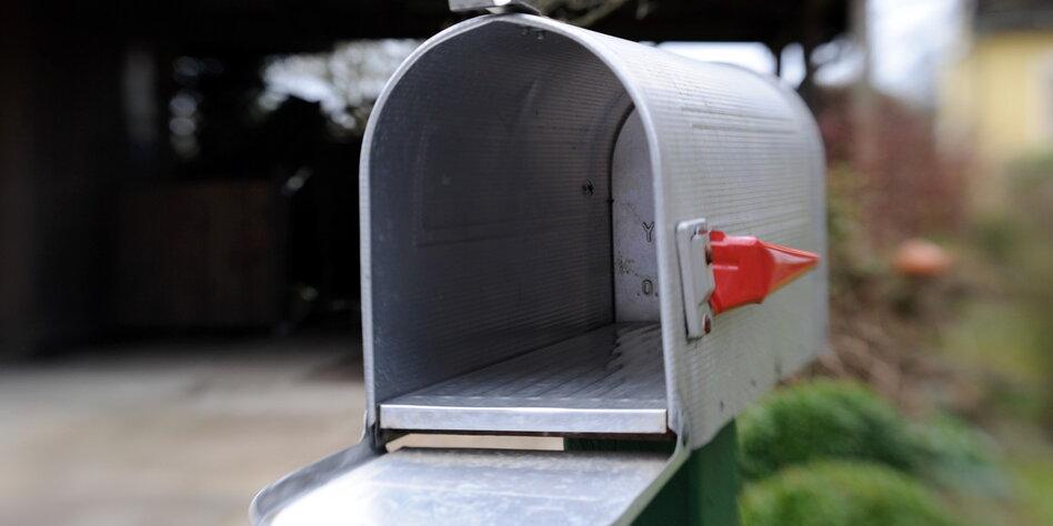 Persönliche Briefe Usa : Postsendungen in den usa alle briefe fotografiert taz