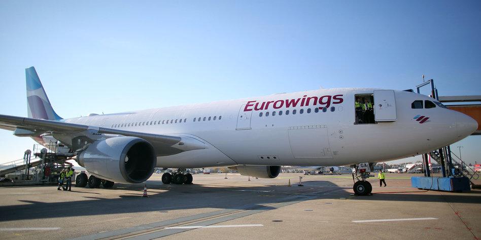eurowings streik hamburg