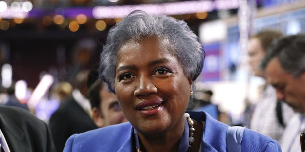 Donna Brazile bei der Democratic National Convention 2016