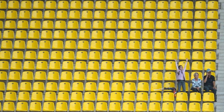 Fußball-Liebe macht blind
