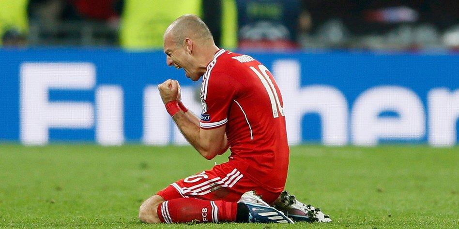 Bayern München Gewinnt Champions League Robben Brachte Die