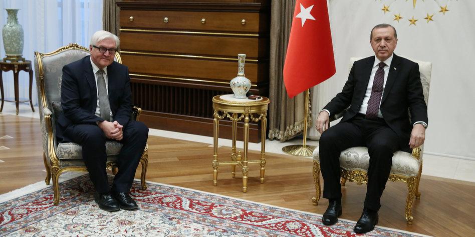 Erdogan Steinmeier
