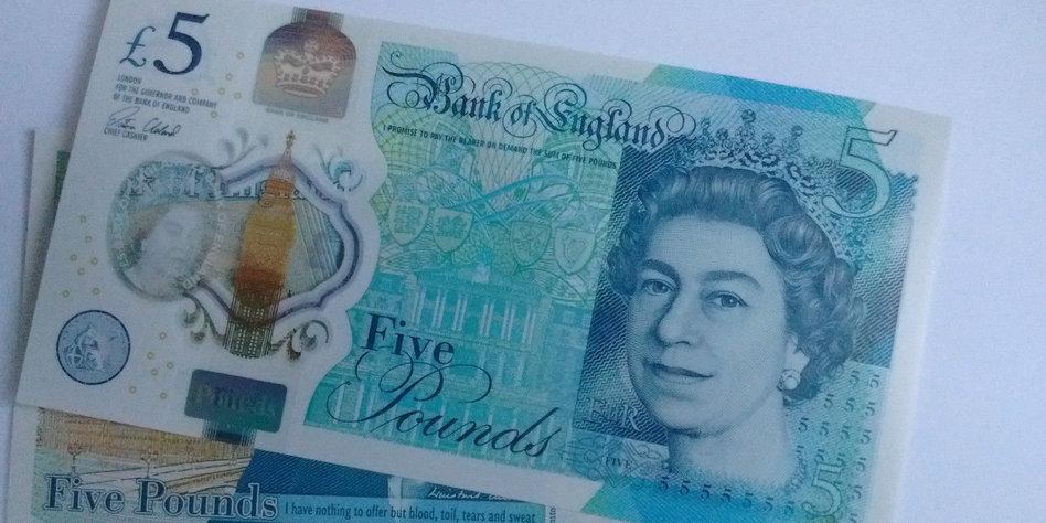 englische pfund scheine neu durchschnittlicher bitcoin-gewinn